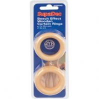 SupaDec Beech Curtain Rings - 56mm